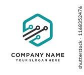 faster logo template vector | Shutterstock .eps vector #1168352476