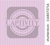 captivity pink emblem   Shutterstock .eps vector #1168373716