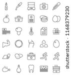 thin line vector icon set   oil ...   Shutterstock .eps vector #1168379230