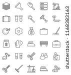thin line vector icon set  ... | Shutterstock .eps vector #1168383163