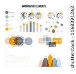 business data visualisation... | Shutterstock .eps vector #1168391263