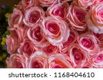 beautiful flower decorate... | Shutterstock . vector #1168404610