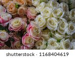 beautiful flower decorate... | Shutterstock . vector #1168404619