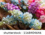 beautiful flower decorate... | Shutterstock . vector #1168404646