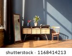 large spacious loft room in... | Shutterstock . vector #1168414213