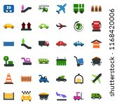 colored vector icon set  ... | Shutterstock .eps vector #1168420006