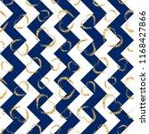 gold heart seamless pattern.... | Shutterstock .eps vector #1168427866