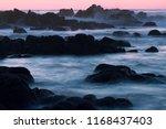 Rocky Coastline Of Monterey...