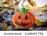ugly cookies for the autumn... | Shutterstock . vector #1168441756
