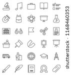 thin line vector icon set  ... | Shutterstock .eps vector #1168460353