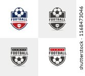 football  soccer logo set | Shutterstock .eps vector #1168473046