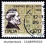 italy   circa 1977  a stamp... | Shutterstock . vector #1168494310