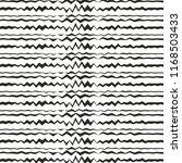 horizontal zig zag lines... | Shutterstock .eps vector #1168503433