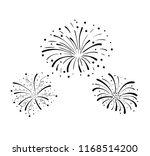 vector hand drawn doodle... | Shutterstock .eps vector #1168514200