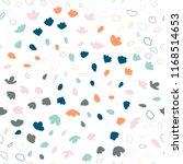 vector organic seamless... | Shutterstock .eps vector #1168514653