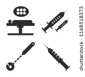 set of 4 vector icons such as... | Shutterstock .eps vector #1168518373