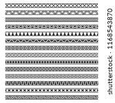 border decoration seamless... | Shutterstock .eps vector #1168543870