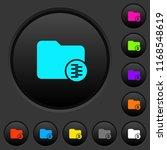 compressed directory dark push... | Shutterstock .eps vector #1168548619