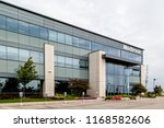 brampton  ontario  canada ... | Shutterstock . vector #1168582606
