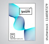 minimal business brochure cover ...   Shutterstock .eps vector #1168587379