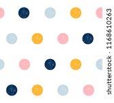 abstract handmade seamless... | Shutterstock .eps vector #1168610263