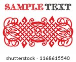old russian pattern for book.... | Shutterstock .eps vector #1168615540