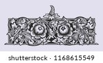 old russian pattern for book.... | Shutterstock .eps vector #1168615549