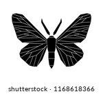 peppered moth  biston betularia ...   Shutterstock .eps vector #1168618366