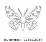 peppered moth  biston betularia ...   Shutterstock .eps vector #1168618369