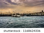 the cityscape of istanbul.... | Shutterstock . vector #1168624336