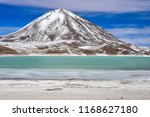 view of laguna verde and the... | Shutterstock . vector #1168627180