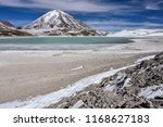 view of laguna verde and the... | Shutterstock . vector #1168627183
