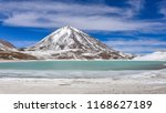 view of laguna verde and the... | Shutterstock . vector #1168627189