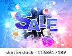 vector broken geometric forms...   Shutterstock .eps vector #1168657189