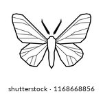 peppered moth  biston betularia ...   Shutterstock .eps vector #1168668856