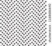 monochrome seamless pattern | Shutterstock .eps vector #1168686640