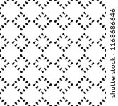 monochrome seamless pattern | Shutterstock .eps vector #1168686646