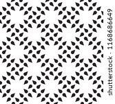 monochrome seamless pattern | Shutterstock .eps vector #1168686649
