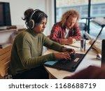 computer programmers wearing... | Shutterstock . vector #1168688719
