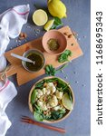delicious homemade cuisine  ... | Shutterstock . vector #1168695343