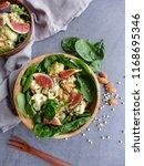 delicious homemade cuisine  ... | Shutterstock . vector #1168695346