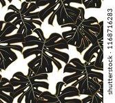 seamless pattern. black...   Shutterstock .eps vector #1168716283