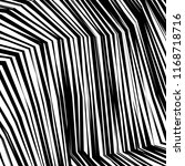 curve random chaotic lines... | Shutterstock .eps vector #1168718716