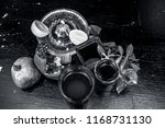 close up of herbal face pack of ...   Shutterstock . vector #1168731130