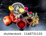 close up of herbal face pack of ...   Shutterstock . vector #1168731133