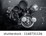 close up of herbal face pack of ...   Shutterstock . vector #1168731136