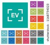 camera exposure value setting... | Shutterstock .eps vector #1168754023