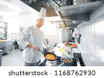 cooking food  profession and...   Shutterstock . vector #1168762930