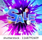 vector colorful geometric forms ... | Shutterstock .eps vector #1168792609