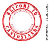 """old rubber stamp """"welcome to... 
